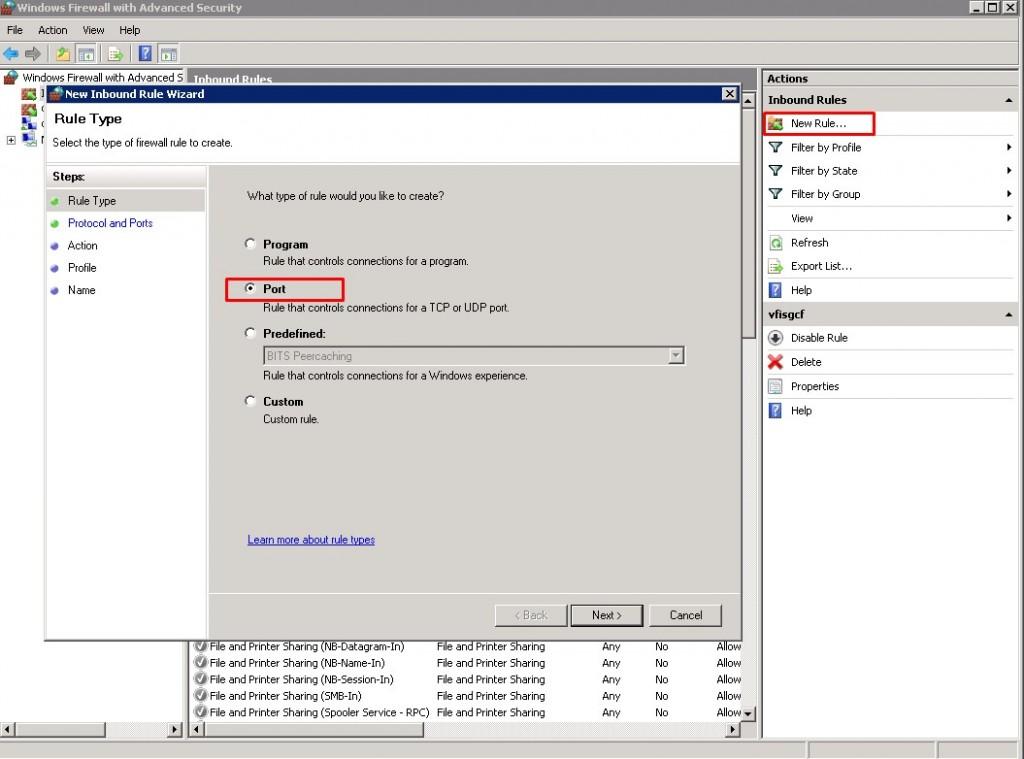 Windows Server Firewall Ayarlamaları